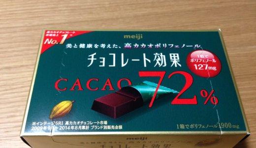 72%カカオチョコで便秘改善に挑戦!1週間体験の効果は?